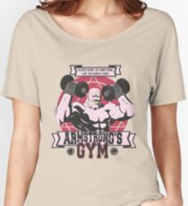 Strong Arm Gym Women's Relaxed Fit T-Shirt
