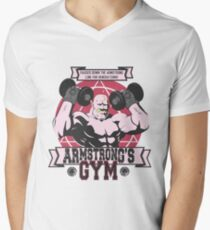 Strong Arm Gym Men's V-Neck T-Shirt