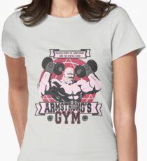 Starke Arm Gym Tailliertes T-Shirt für Frauen
