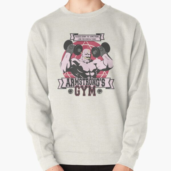 Strong Arm Gym Pullover Sweatshirt