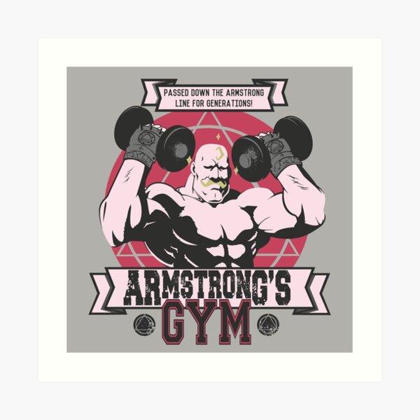 Strong Arm Gym Art Print