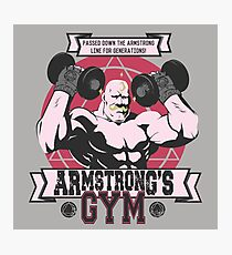 Strong Arm Gym Photographic Print