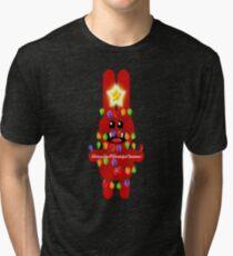 CHRISTMASRABBIT Tri-blend T-Shirt