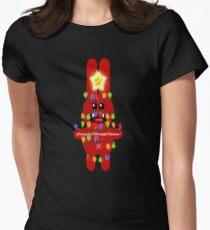 CHRISTMASRABBIT Women's Fitted T-Shirt