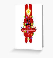 CHRISTMASRABBIT Greeting Card