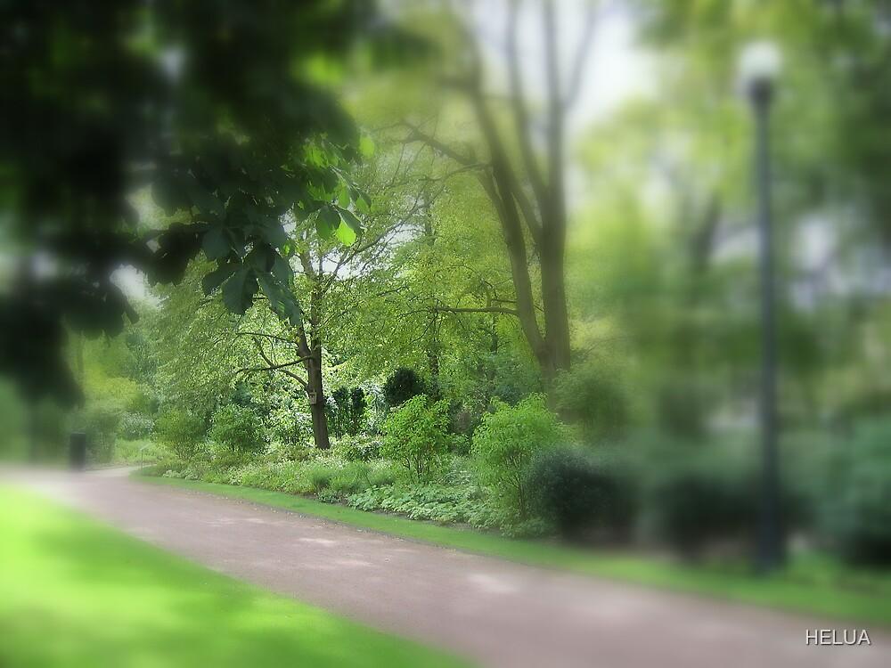 Enchanted Garden - The Walk by HELUA