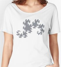 Dragon Curve - 10 Steps Women's Relaxed Fit T-Shirt