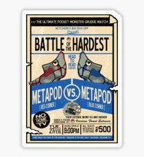 Battle of the Century Sticker