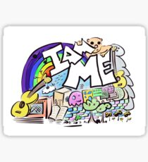 """I AM ME"" doodle Sticker"