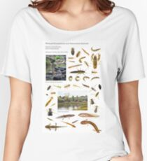 Wetland Ecosystems and Associated Animals Women's Relaxed Fit T-Shirt