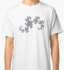 Dragon Curve - 10 Steps Rounded Classic T-Shirt