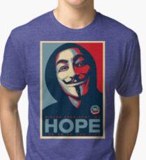 Anonymous - Hope Tri-blend T-Shirt