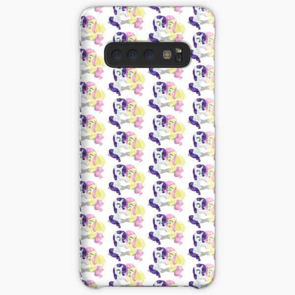 Rarity and Fluttershy - Bunny Decorating Samsung Galaxy Snap Case