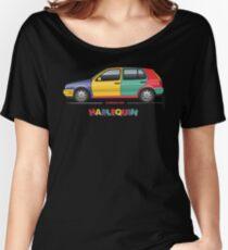 Tornado Red MK3 Golf Harlequin Women's Relaxed Fit T-Shirt