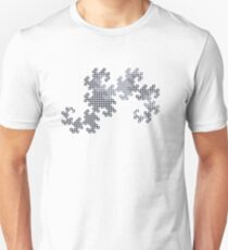 Dragon Curve - 10 Steps Sequence T-Shirt