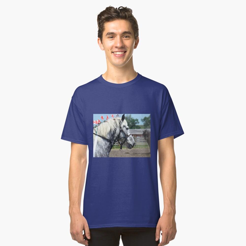 Grey vs Black Classic T-Shirt Front