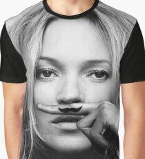 Kate Moss - Life is a joke fashion print Graphic T-Shirt