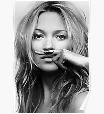 Kate Moss - Life is a joke fashion print Poster