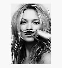 Kate Moss - Life is a joke fashion print Photographic Print