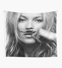 Kate Moss - Life is a joke fashion print Wall Tapestry