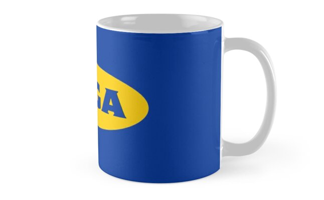 Bts Suga Ikea Logo Inspired Mugs By Graysonly Redbubble