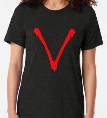 V Logo Tri-blend T-Shirt