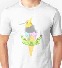 I scream - ice cream cockatiel Unisex T-Shirt