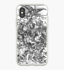 APOCALYPSE, Durer, Revelation, 4 Horsemen, Four Riders,  iPhone Case