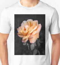 peach rose closeup 10/14/17 T-Shirt