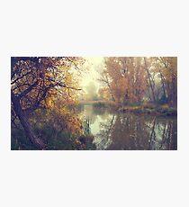 October Mist Photographic Print