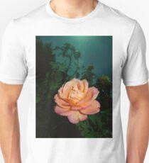 orange pink rose, dark sky 10/14/17 T-Shirt