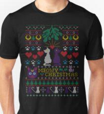 Meowy Christmas Ugly Christmas Sweater Unisex T-Shirt
