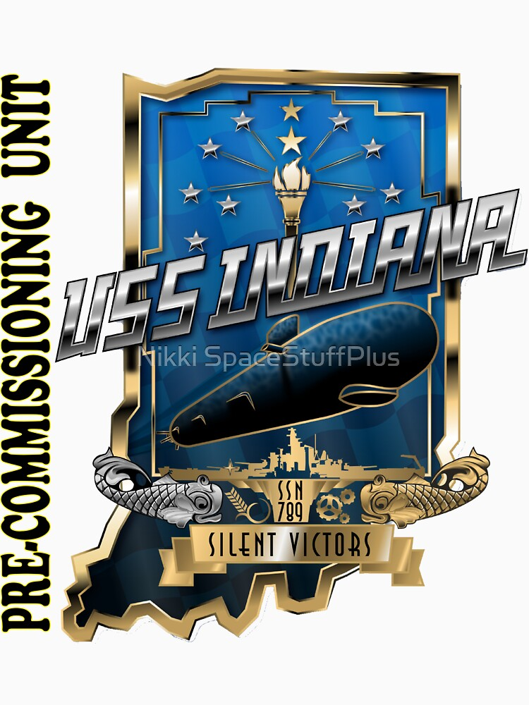 SSN-789 PCU Indiana Crest for Light Colors by Spacestuffplus