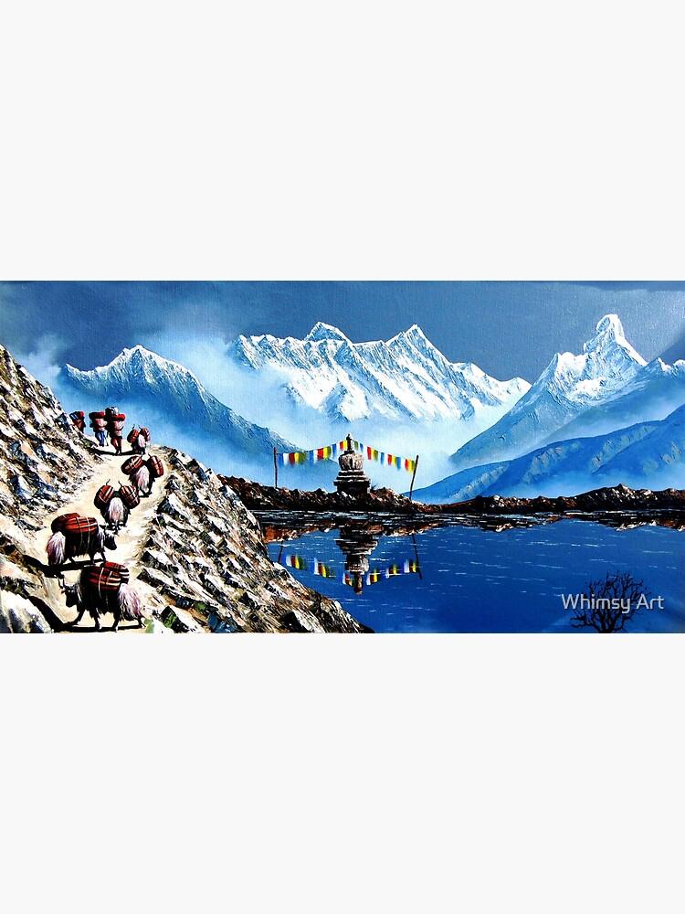 Mount Annapurna Nepal Postcard