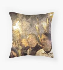17 10 8 fo xy z the horror of the crowd. Throw Pillow