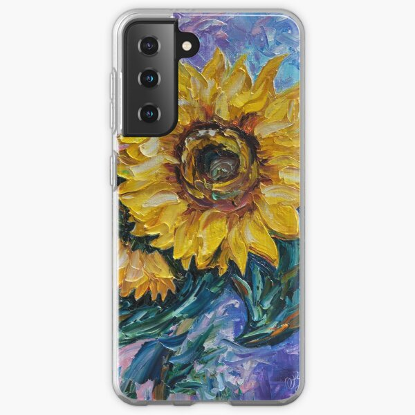 That Sunflower From The Sunflower State Samsung Galaxy Soft Case