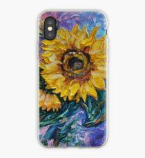 Vinilo o funda para iPhone That Sunflower From The Sunflower State de OLena Art - marca