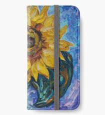 That Sunflower From The Sunflower State by OLena Art - brand  iPhone Wallet/Case/Skin