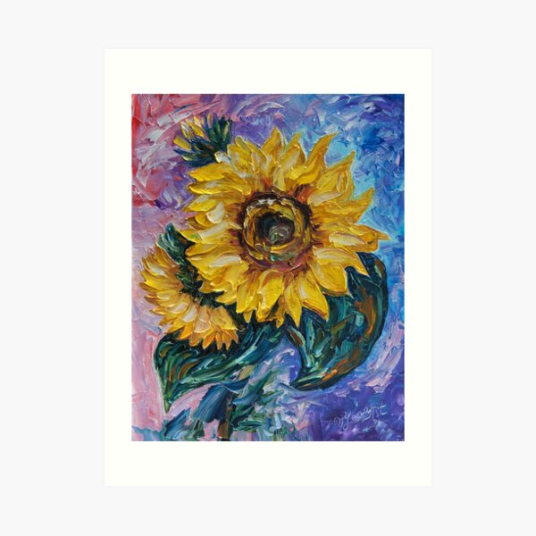 That Sunflower From The Sunflower State Art Print