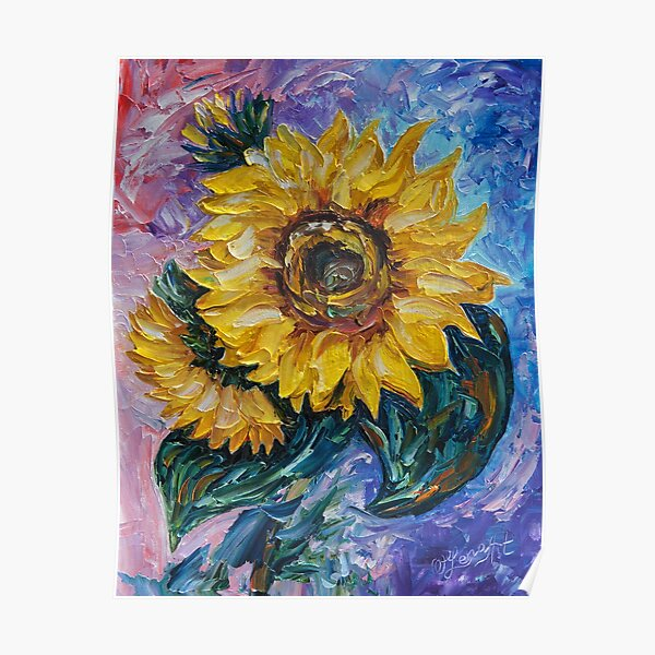 That Sunflower From The Sunflower State Poster