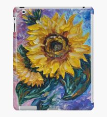 Diese Sonnenblume aus dem Sonnenblumenstaat von OLena Art - Brand iPad-Hülle & Klebefolie
