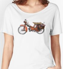 Vintage French Motobecane Moped Women's Relaxed Fit T-Shirt