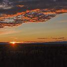Sunset in Alaska by Bob Hortman