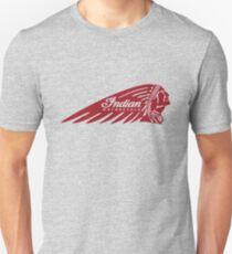 Indian Motorcycle Logo Red T-Shirt