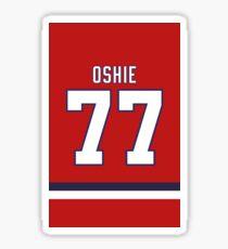 TJ Oshie  Sticker