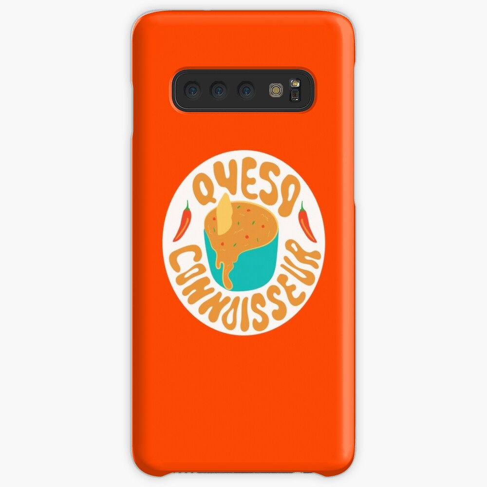 Queso Connoisseur Case & Skin for Samsung Galaxy