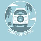 Surf's Up Dude! von Bastian Groscurth
