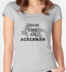 Train Like An Ackerman Women's Fitted Scoop T-Shirt
