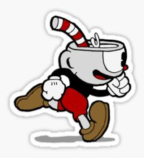 Cuphead, Run Sticker
