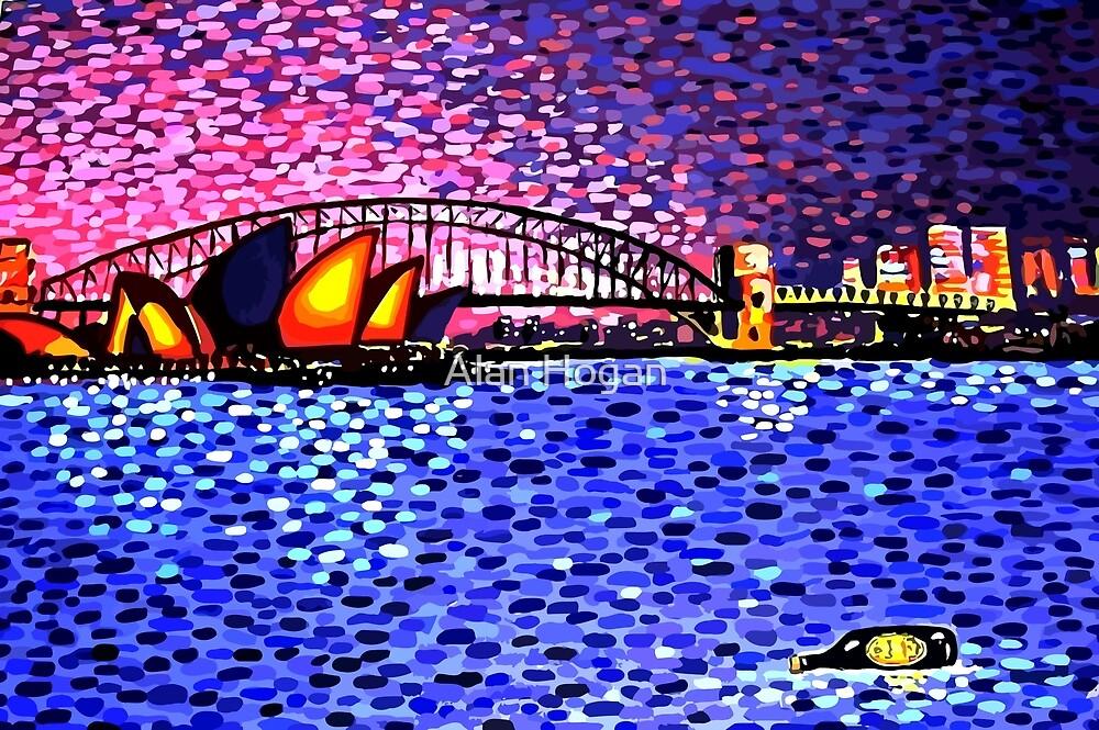 Sydney Harbour by Alan Hogan